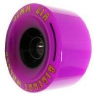 Bigfoot Cored Purple 97mm Longboard Wielen (81a)