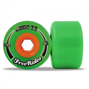 ABEC 11 Classic FreeRides 72mm longboard wielen