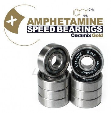 Amphetamine Ceramix Gold longboard bearings