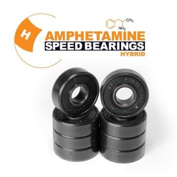 Amphetamine Hybrid longboard bearings