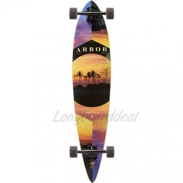 "Arbor Timeless Photo - Nick Liotta 42"" pintail longboard complete"