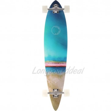 "Arbor Timeless Photo 42"" pintail longboard complete"