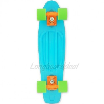 "Baby Miller Ice Lolly Tropical Blue 22"" cruiser skateboard"