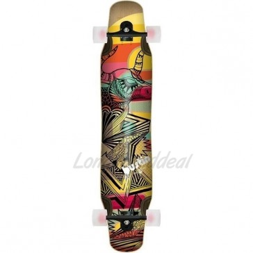 "Bustin Daenseu Dakota Graphic 44"" longboard complete"