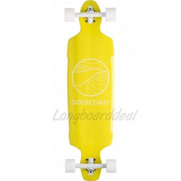 "Goldcoast Citrus Drop Through 38"" longboard complete"