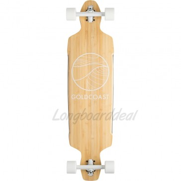 """Goldcoast Classic Bamboo Drop-Through 40.5"""" longboard complete"""