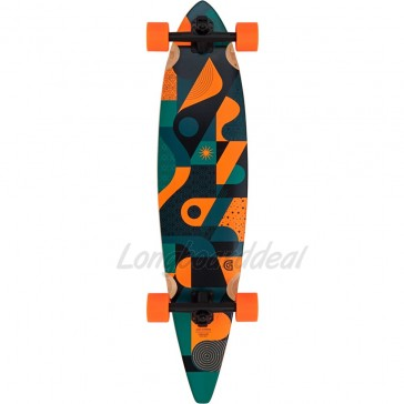"Goldcoast Orbit Pintail 40"" longboard complete"