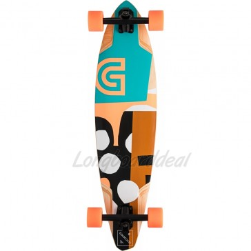 """Goldcoast The Lair Pintail 36"""" longboard complete"""