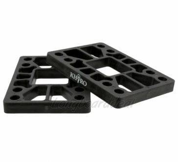 KHIRO Flat riser-pads 8mm Hard - SET