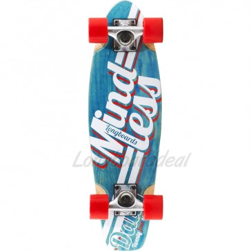 """Mindless Daily Stain 24/7 Blue 24"""" mini cruiser complete"""