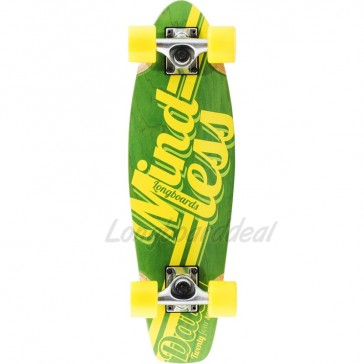 """Mindless Daily Stain 24/7 Green 24"""" mini cruiser complete"""