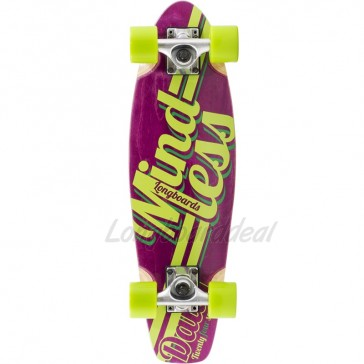 "Mindless Daily Stain 24/7 Purple 24"" mini cruiser complete"