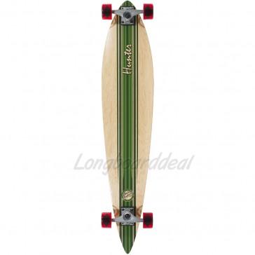 "Mindless Hunter III Green 44"" pintail longboard complete"