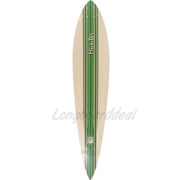 "Mindless Hunter III Green 44"" pintail longboard deck"