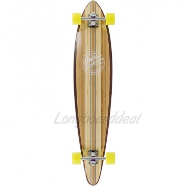 "Mindless Maverick III Talisman 46"" pintail longboard complete"