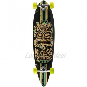"Mindless Rogue II Limited-Edition Green 38"" longboard complete"