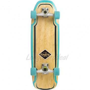 """Mindless Surf Skate Green 30"""" surfskate complete"""
