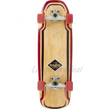 "Mindless Surf Skate Maroon 30"" surfskate complete"