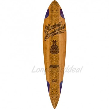 "Mindless Voodoo Lakota 44"" pintail longboard deck"