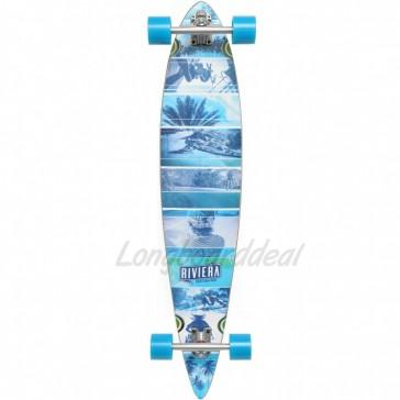 "Riviera Essence 40"" pintail longboard complete"