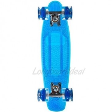 "Sunset LED Wave 22"" cruiser skateboard"