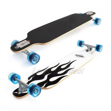 "Surf Rebel Free Ride 40"" drop-through complete longboard"