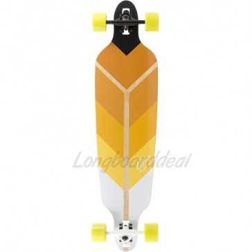 """Voltage Directional DT Yellow 39.75"""" longboard complete"""