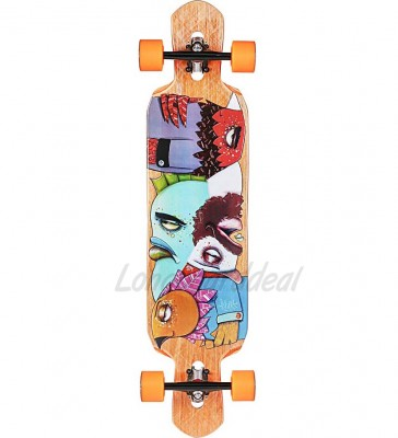 """Riviera Word to the whise 41"""" longboard complete"""