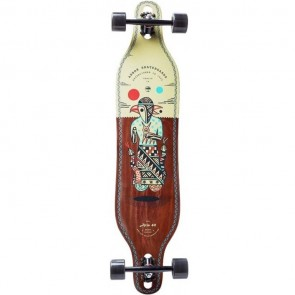 "Arbor Axis Artist - Hablak 40"" drop-through longboard complete"