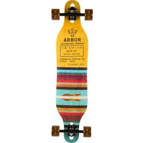 "Arbor Axis Flagship 37"" drop-through longboard complete"