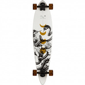"""Arbor Fish Bamboo 37"""" pintail longboard complete"""