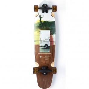 "Arbor Mission Photo 35"" kicktail longboard complete"