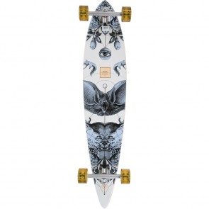 "Arbor Timeless Bamboo 42"" pintail longboard complete"