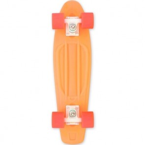 "Baby Miller Ice Lolly Tangerine Orange 22"" cruiser skateboard"