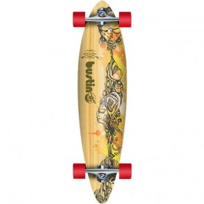 "Bustin Surf Cruiser Bamboo 36"" pintail longboard complete"