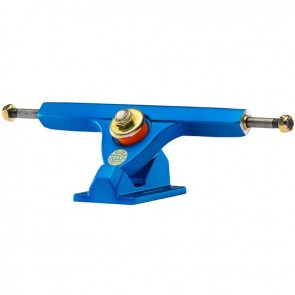 "Caliber II Forty-Four 10"" Satin Blue longboard trucks"