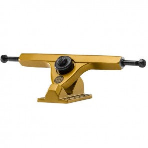 "Caliber II Forty-Four 10"" Satin Gold longboard trucks"