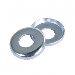 Caliber Small Cupped Washers Raw