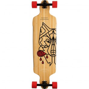 "Goldcoast Aesop Drop Through 38"" longboard complete"