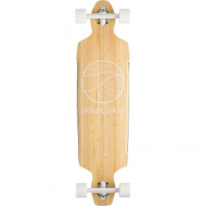 "Goldcoast Classic Bamboo Drop-Through 40.5"" longboard complete"