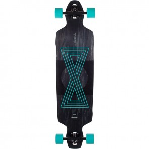 "Goldcoast Infinitas 40.5"" drop-through longboard complete"