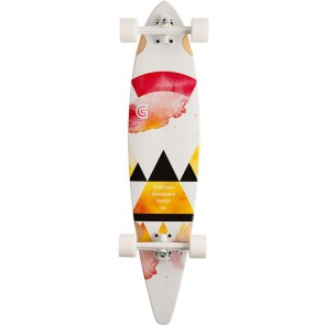 """Goldcoast The Salvia Pintail 40"""" longboard complete"""