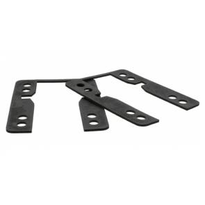 KHIRO Flat drop-thru shock-pads 1,5mm Soft - SET