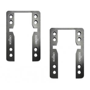 KHIRO Flat drop-thru shock-pads 5mm Soft - SET