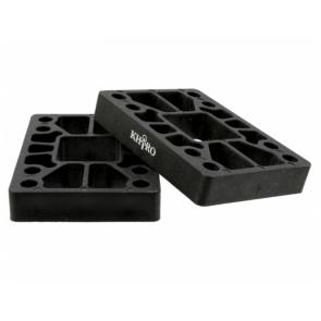 KHIRO Flat riser-pads 12mm Hard - SET