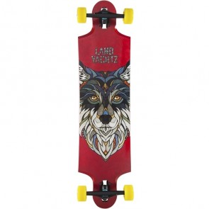 "Landyachtz Ten Two Four Wolf 38.75"" longboard complete"