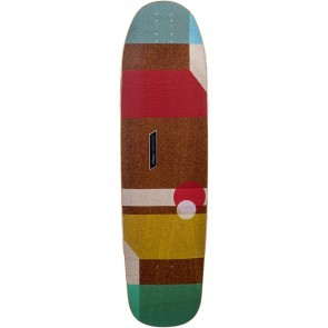"Loaded Cantellated Tesseract 36"" longboard deck"