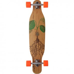 "Loaded Fattail 38"" longboard complete"