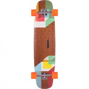 "Loaded Tesseract 39"" longboard complete"