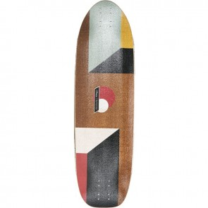 "Loaded Truncated Tesseract 33"" longboard deck"